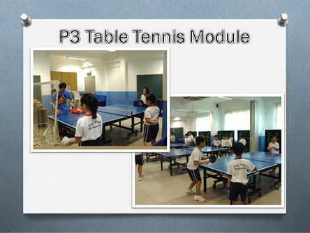 P3 Table Tennis Module