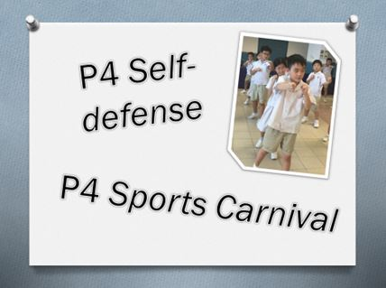 P4 Sports Carnival - Self defense