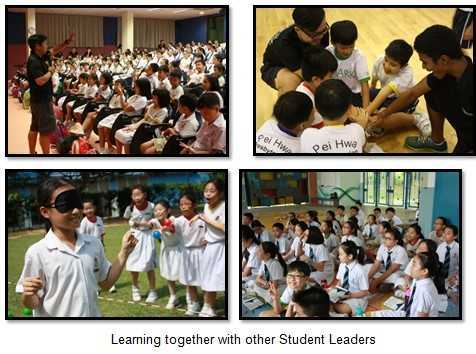 Learning together with other Student leaders